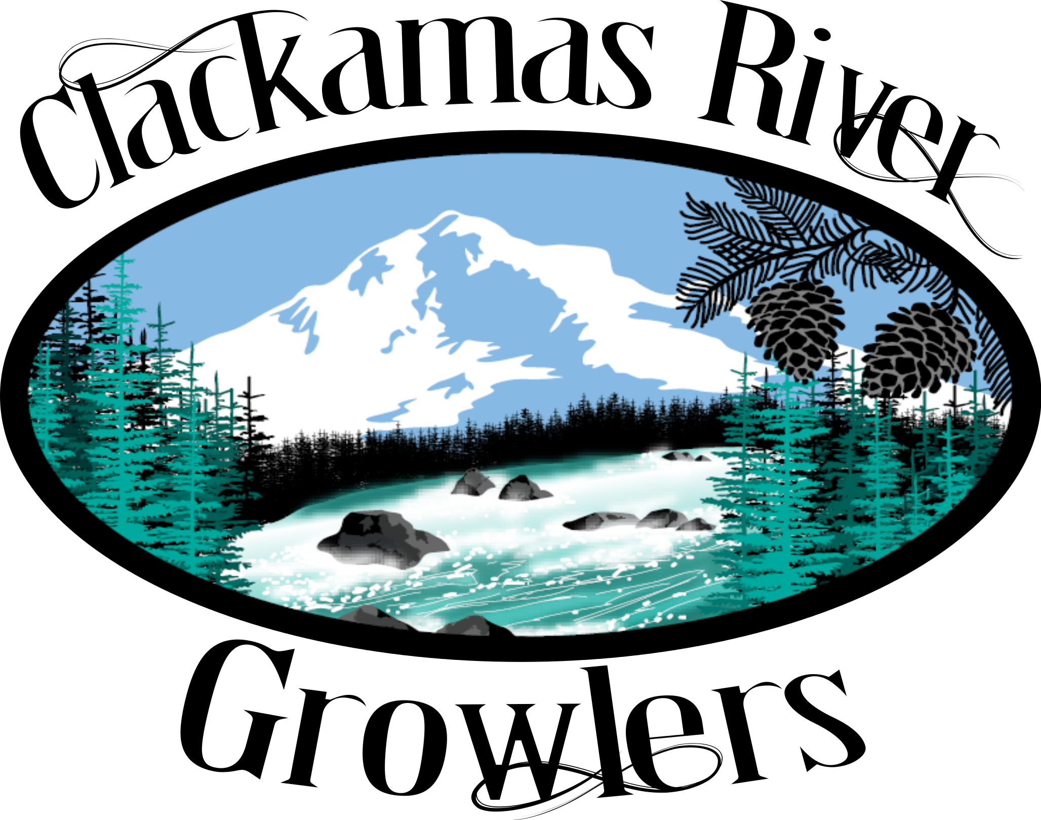 Clackamas River Growlers